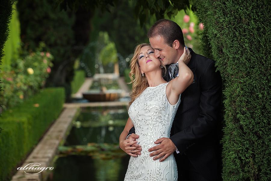 Silvia juan alberto post boda en la alhambra y for Jardines de alberto granada